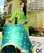 Al-Karam Textile Mid Summer Dresses 2014 For Girls 2