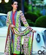Al-Karam Textile Mid Summer Dresses 2014 For Girls 4
