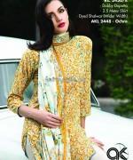 Al-Karam Textile Mid Summer Dresses 2014 For Girls 6