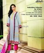 Al-Karam Textile Mid Summer Dresses 2014 For Women 12