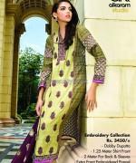 Al-Karam Textile Mid Summer Dresses 2014 For Women 14