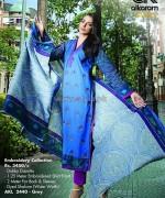 Al-Karam Textile Mid Summer Dresses 2014 For Women 15