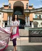 Al-Karam Textile Mid Summer Dresses 2014 For Women 8