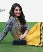 Ayesha Khurram Mid Summer Dresses 2014 For Girls 5