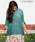Ayesha Khurram Mid Summer Dresses 2014 For Girls 8