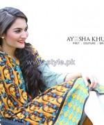 Ayesha Khurram Mid Summer Dresses 2014 For Women 1