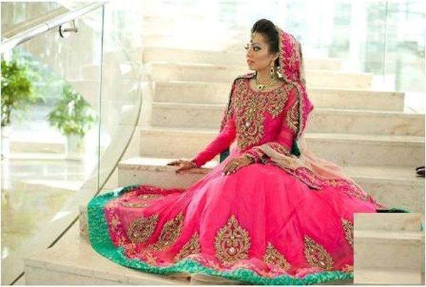 Bridal Anarkali Frocks For Wedding 002