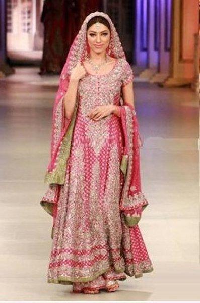 Bridal Anarkali Frocks For Wedding 003