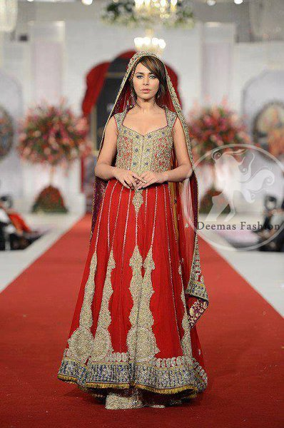 Bridal Anarkali Frocks For Wedding 008