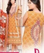 Dawood Classic Lawn Dresses 2014 For Mid Summer 7