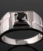 Designs Of Black Sapphire Rings 2014 For Men 0010