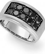 Designs Of Black Sapphire Rings 2014 For Men 0012