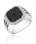 Designs Of Black Sapphire Rings 2014 For Men 002