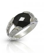 Designs Of Black Sapphire Rings 2014 For Men 003