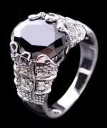Designs Of Black Sapphire Rings 2014 For Men 004