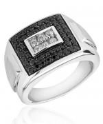 Designs Of Black Sapphire Rings 2014 For Men 006