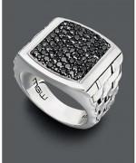 Designs Of Black Sapphire Rings 2014 For Men 007