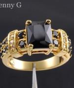 Designs Of Black Sapphire Rings 2014 For Men 008
