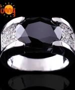 Designs Of Black Sapphire Rings 2014 For Men