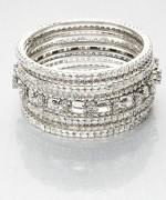 Designs Of Bridal Diamond Bangles 2014 For Women 003