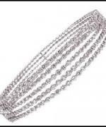 Designs Of Bridal Diamond Bangles 2014 For Women 008