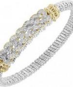 Designs Of Bridal Diamond Bangles 2014 For Women 011