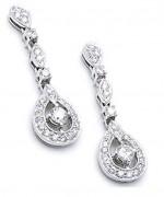 Designs Of Diamond Earrings 2014 For Women 0010