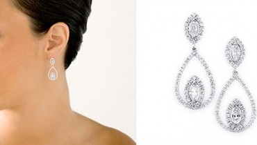 Designs Of Diamond Earrings 2014 For Women 002