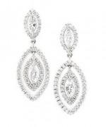 Designs Of Diamond Earrings 2014 For Women 004