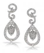 Designs Of Diamond Earrings 2014 For Women 008