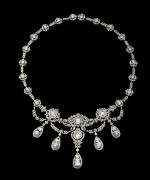 Designs Of Diamond Necklaces 2014 For Women 0010