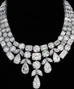 Designs Of Diamond Necklaces 2014 For Women 0014