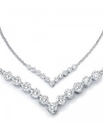 Designs Of Diamond Necklaces 2014 For Women 002
