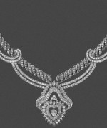 Designs Of Diamond Necklaces 2014 For Women 008