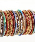 Designs Of Glass Bangles 2014 For Women 001