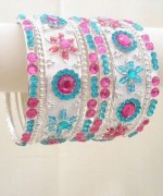 Designs Of Glass Bangles 2014 For Women 0011