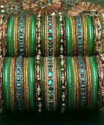 Designs Of Glass Bangles 2014 For Women 0013