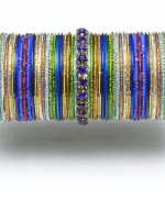 Designs Of Glass Bangles 2014 For Women 0014