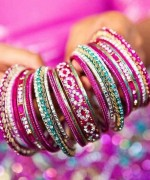 Designs Of Glass Bangles 2014 For Women 009