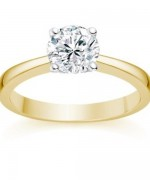 Designs Of Gold Engagement Rings 2014 For Women  001