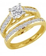 Designs Of Gold Engagement Rings 2014 For Women  002
