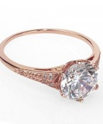 Designs Of Gold Engagement Rings 2014 For Women  005