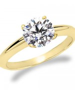 Designs Of Gold Engagement Rings 2014 For Women  006