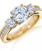 Designs Of Gold Engagement Rings 2014 For Women
