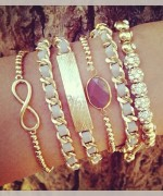 Designs Of Party Arm Bracelets 2014 For Girls 0010