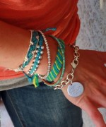 Designs Of Party Arm Bracelets 2014 For Girls 0011