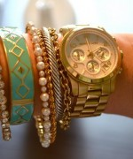 Designs Of Party Arm Bracelets 2014 For Girls 0012