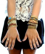 Designs Of Party Arm Bracelets 2014 For Girls 0013
