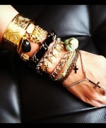 Designs Of Party Arm Bracelets 2014 For Girls 0014