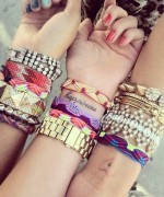 Designs Of Party Arm Bracelets 2014 For Girls 0015